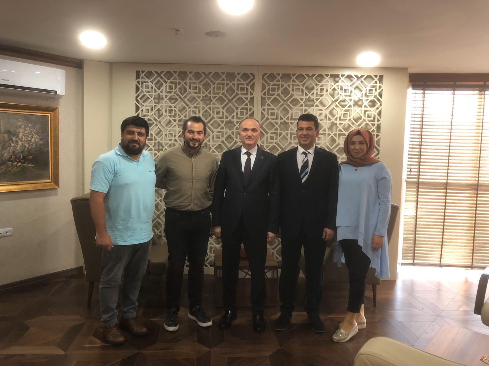 Düzce Belediye Başkanı ve Eski Bakanımız Dr. Faruk ÖZLÜ ziyareti